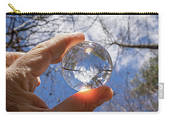 The World In My Hand Carry-all Pouch