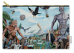 The World Of Ray Harryhausen Carry-all Pouch by Tony Banos