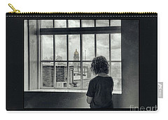 The World Outside My Window Number II  Carry-all Pouch