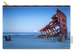 The Wreck Of The Peter Iredale Carry-all Pouch