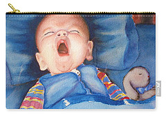The Yawn Carry-all Pouch by Marilyn Jacobson