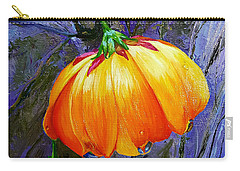 The Yellow Flower Carry-all Pouch by Janet Garcia