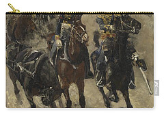 The Yellow Riders, George Hendrik Breitner, 1885 - 1886 Carry-all Pouch