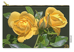 The Yellow Rose Family Carry-all Pouch