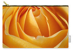 The Yellow Rose Carry-all Pouch by Joy Watson