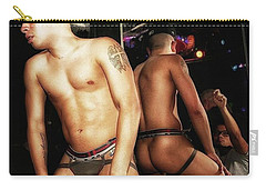 Carry-all Pouch featuring the photograph Thee Infamous J. At One Of His Go Go by Mr Photojimsf