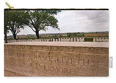 Carry-all Pouch featuring the photograph Their Name Liveth For Evermore by Travel Pics