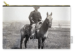 Theodore Roosevelt Horseback - C 1903 Carry-all Pouch