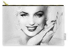 Theo's Marilyn 133 Bw Carry-all Pouch