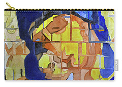 Carry-all Pouch featuring the painting Theotokos by Sandy McIntire