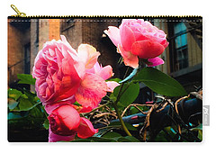 There Is A Rose In Spanish Harlem Carry-all Pouch by Miriam Danar