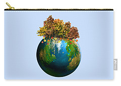 Carry-all Pouch featuring the painting There Is Only One by Ivana Westin