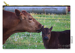 Carry-all Pouch featuring the photograph There Is Somthing In Your Ear by Mark McReynolds