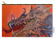 There Once Were Dragons Carry-all Pouch by Barbara O'Toole