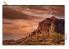 Carry-all Pouch featuring the photograph There's Gold In Them Hills  by Saija Lehtonen
