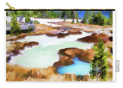 Thermal Pools, West Thumb Ynp Carry-all Pouch