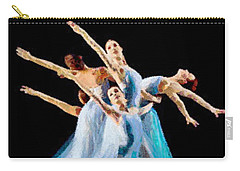They Danced Carry-all Pouch by Catherine Lott