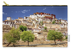 Carry-all Pouch featuring the photograph Thikse Monastery by Alexey Stiop