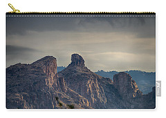 Carry-all Pouch featuring the photograph Thimble Peak Sunrise by Dan McManus