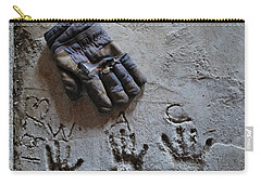 Carry-all Pouch featuring the photograph Things Left Behind by Susan Capuano