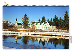 Carry-all Pouch featuring the photograph Thingvellir Iceland  by Matthias Hauser