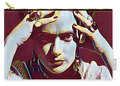 Thinking Frida Carry-all Pouch by Gary Grayson