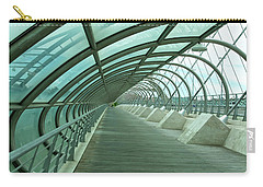 Third Millenium Bridge, Zaragoza, Spain Carry-all Pouch by Tamara Sushko