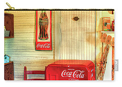 Thirst-quencher Old Coke Machine Carry-all Pouch
