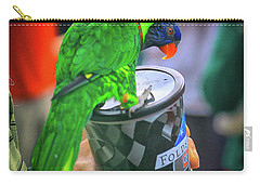 Thirsty Parrot Carry-all Pouch