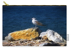 This Gull Has Flown Carry-all Pouch by John Freidenberg