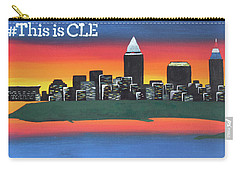 This Is Cle Carry-all Pouch by Cyrionna The Cyerial Artist