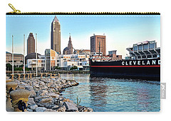 This Is Cleveland Carry-all Pouch by Frozen in Time Fine Art Photography
