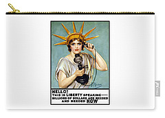 This Is Liberty Speaking - Ww1 Carry-all Pouch by War Is Hell Store