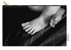 Carry-all Pouch featuring the photograph This Little Piggy... by Angela Rath