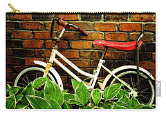 This Old Bicycle Carry-all Pouch by James C Thomas