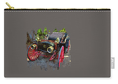 Carry-all Pouch featuring the photograph This Old Car by Thom Zehrfeld