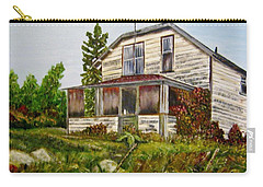 Carry-all Pouch featuring the painting This Old House by Marilyn  McNish