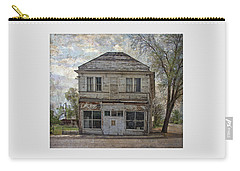 Carry-all Pouch featuring the photograph This Old Store by Thom Zehrfeld