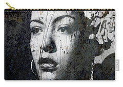 Carry-all Pouch featuring the mixed media This Ole Devil Called Love  by Paul Lovering