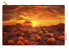 This Our Town Of Halloween Carry-all Pouch by Phil Koch