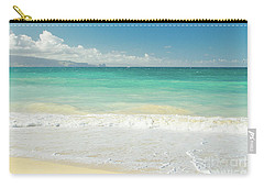 Carry-all Pouch featuring the photograph This Paradise Life by Sharon Mau