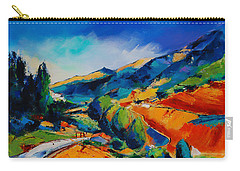 Carry-all Pouch featuring the painting This Way To Heaven by Elise Palmigiani