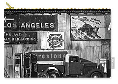 This Way To L.a. Carry-all Pouch by Marius Sipa