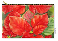 This Year's Poinsettia 1 Carry-all Pouch