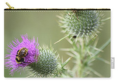 Thistle And Bee 1 Carry-all Pouch