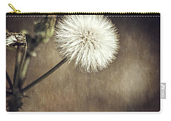 Carry-all Pouch featuring the photograph Thistle by Carolyn Marshall
