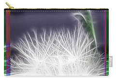 Carry-all Pouch featuring the photograph Thistle by EricaMaxine  Price