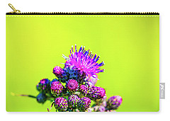 Carry-all Pouch featuring the photograph Thistle June 2016.  by Leif Sohlman