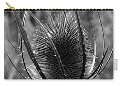 Carry-all Pouch featuring the photograph Thistle by Keith Elliott