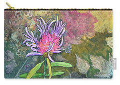 Thistle Carry-all Pouch by Nancy Jolley